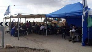 אוהל ליד עתניאל
